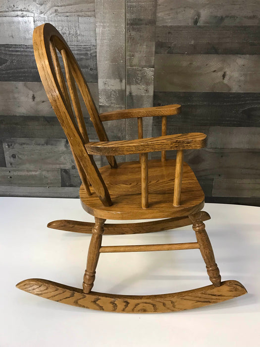 Child's Wooden Rocking Chair