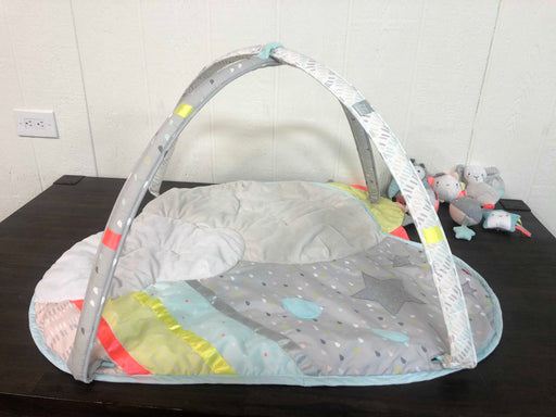 used Skip Hop Activity Gym/ Playmat, Silver Lining Cloud