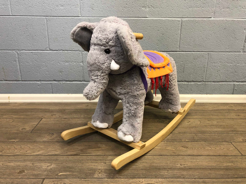 used Animal Adventure Circus Elephant Rocker