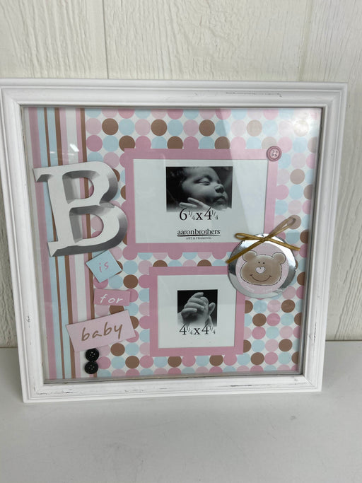 used Aaron Brother's Baby Photo Frame