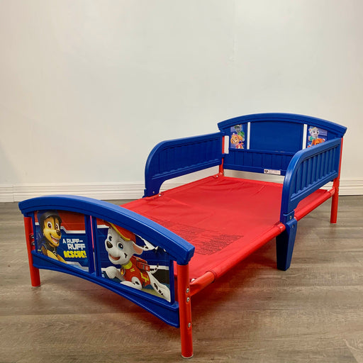 used Delta Children Paw Patrol Toddler Bed