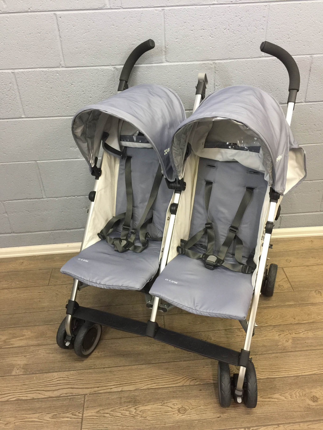 used UPPAbaby G-LINK Stroller, Pascal (Grey), 2015