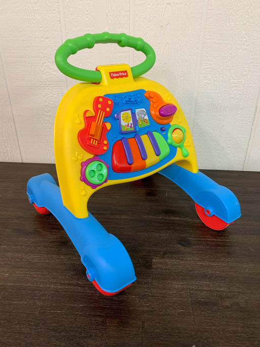 used Fisher Price Brilliant Basics Musical Activity Walker