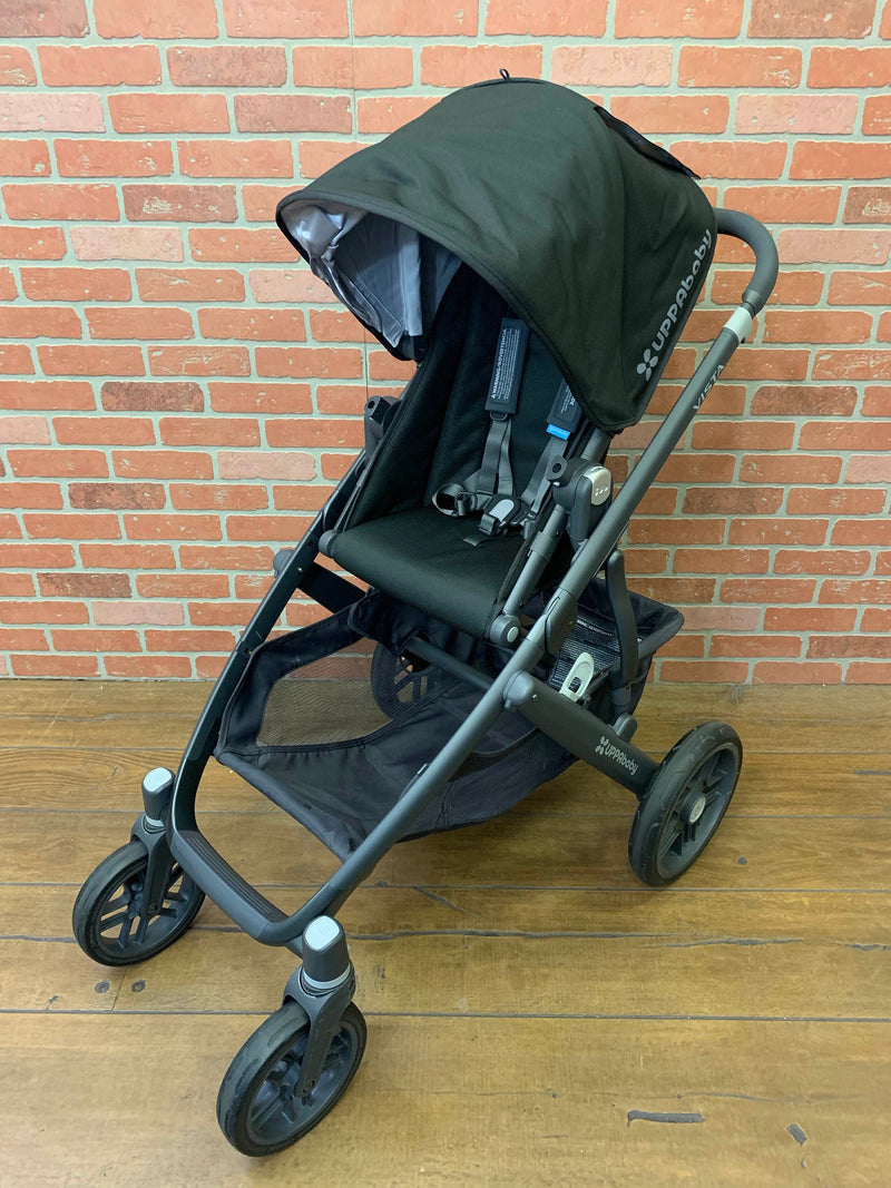 used UPPAbaby VISTA Stroller, 2017, Jake (Black)