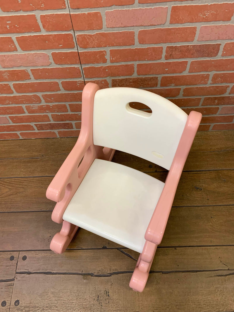 secondhand Little Tikes Pink Rocking Chair