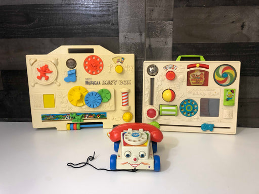 BUNDLE Vintage Learn And Discover Toys