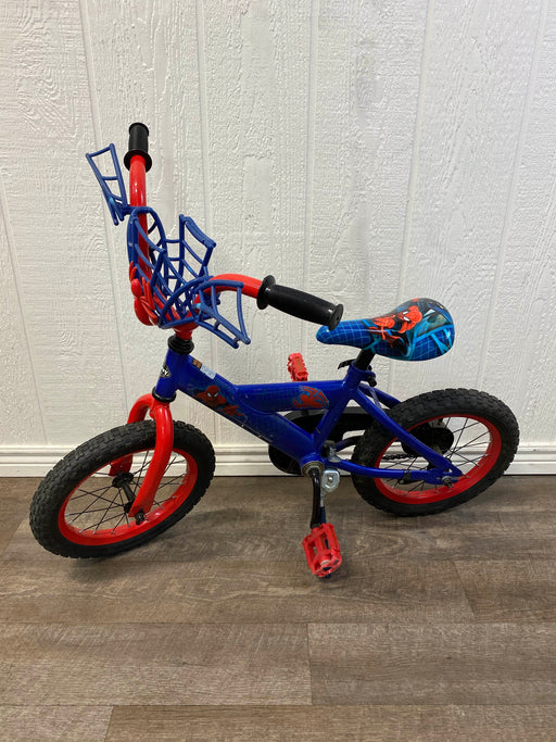 used Huffy Spider-Man Bike, 14""