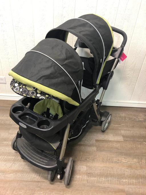 used Graco RoomFor2 Stand And Ride Double Stroller, 2012