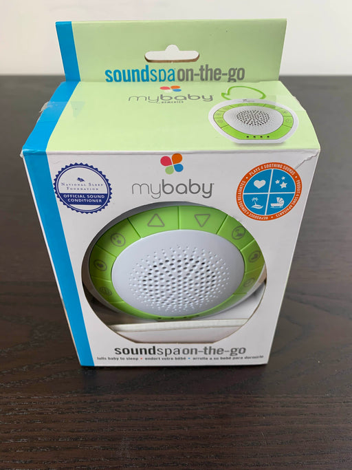 used MyBaby HoMedics SoundSpa On-The-Go