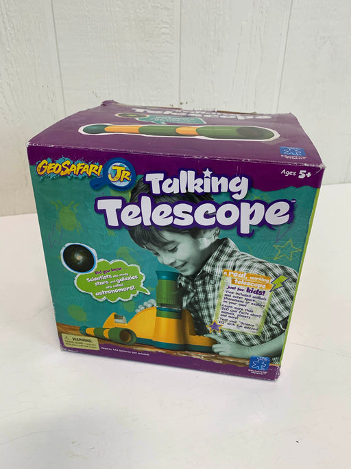 used Educational Insights GeoSafari Jr Talking Telescope