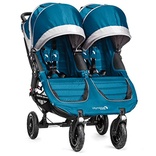 Baby Jogger City Mini GT Double Stroller, Black, 2018