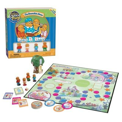 Patch Products Berenstain Bears Learn To Share Game