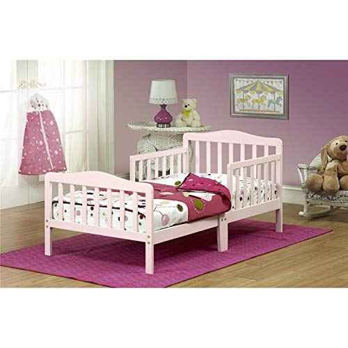 Orbelle Pink Toddler Bed