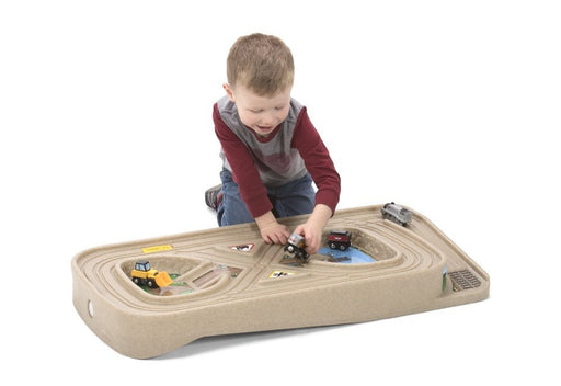 Simplay3 Carry And Go Track Table For Cars, Trucks And Trains