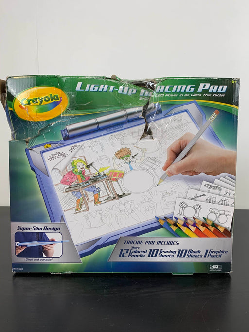 used Crayola Light Up Tracing Pad