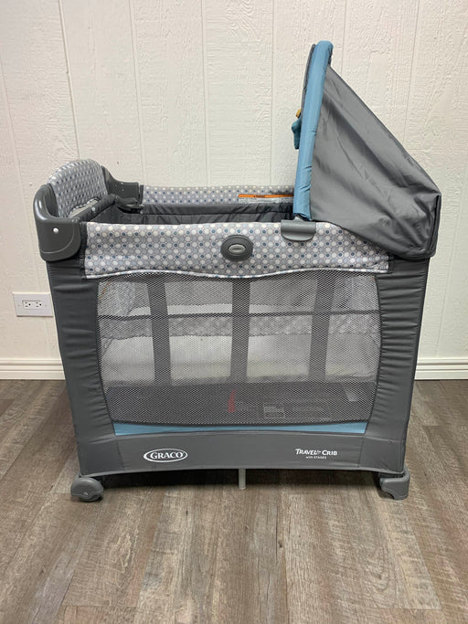 used Graco Travel Lite Crib With Stages