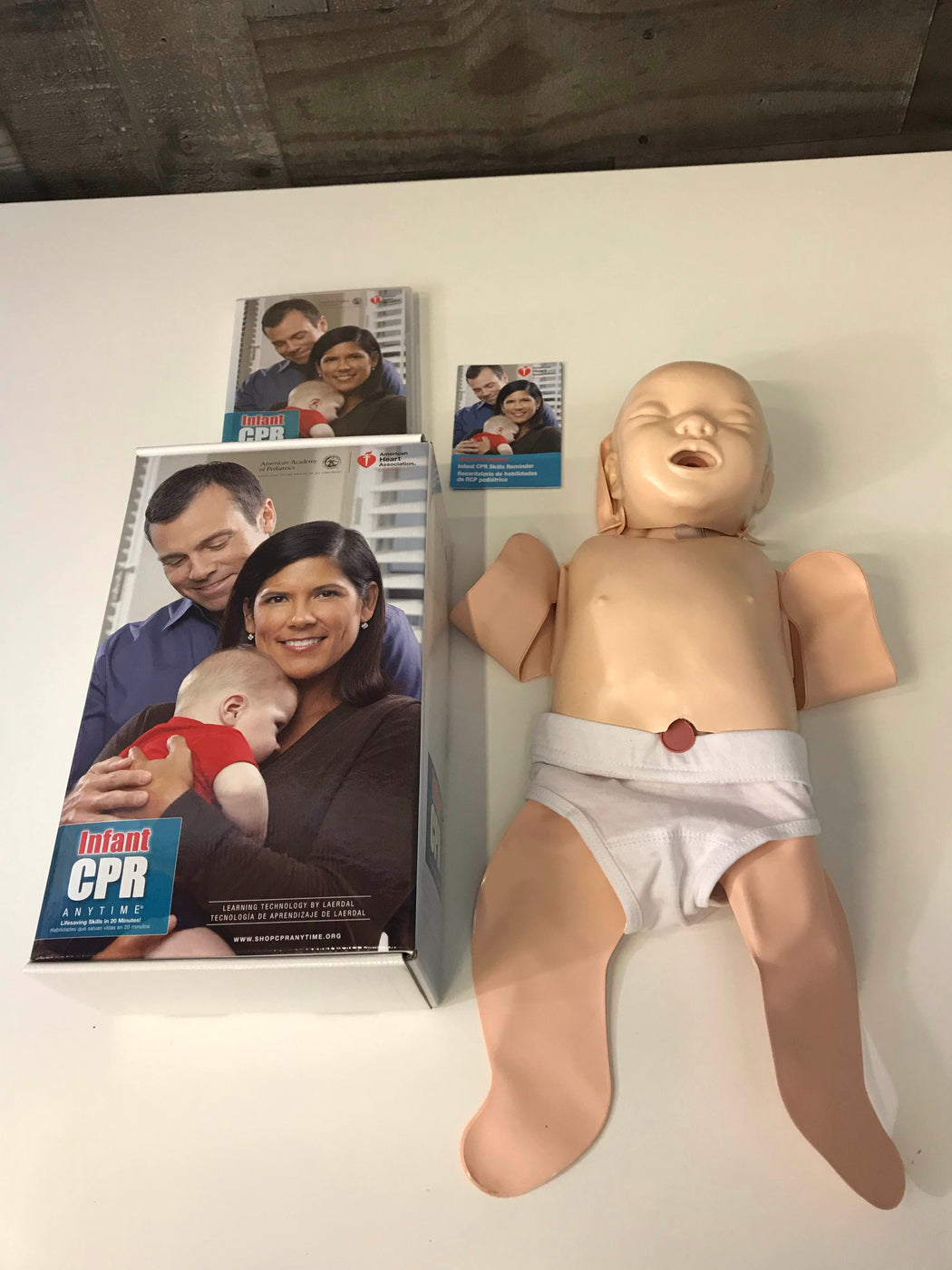 American Heart Association Infant CPR Anytime DVD Training Kit
