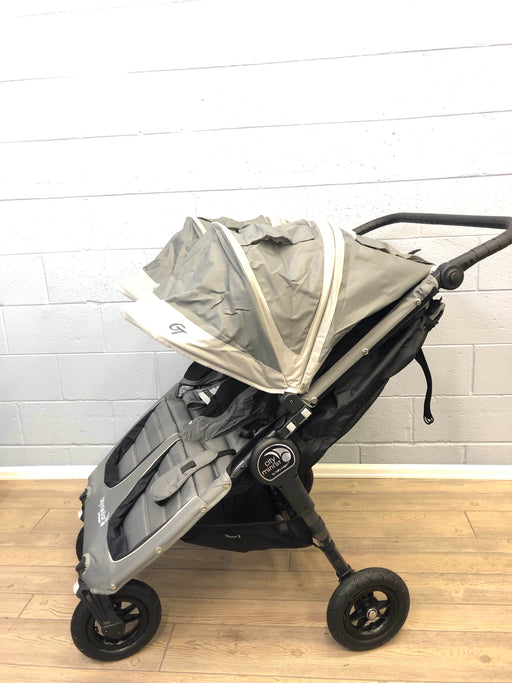 Baby Jogger City Mini GT Double Stroller, Steel Gray, 2018