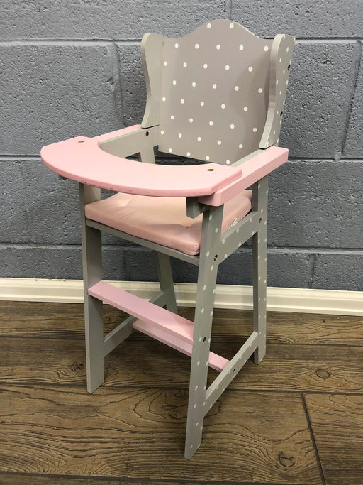 Olivia's Little World Baby Doll High Chair