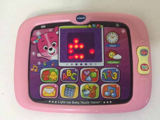 used VTech Light-Up Baby Touch Tablet