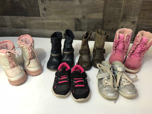 BUNDLE Winter Boots and Shoes, Toddler Size 6-7