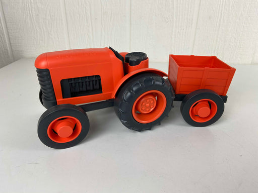 used Green Toys Tractor And Trailer