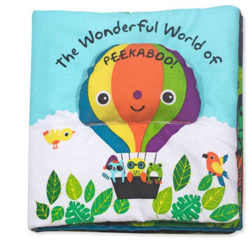 used Melissa & Doug Soft Activity Book- The Wonderful World Of Peekaboo