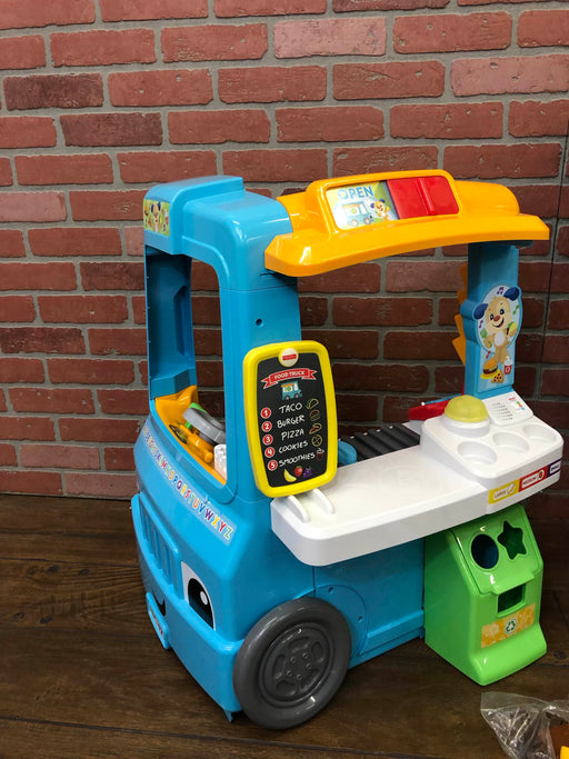 Fisher Price Laugh And Learn Servin' Up Fun Food Truck