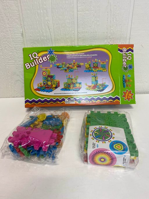 used IQ Builder Gear Set Learning Toys Gears Set For Beginners Building Educational Games