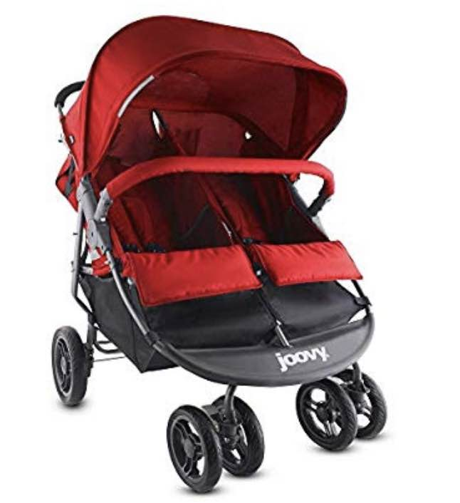 used Joovy Scooter X2 Double Stroller Red, 1019