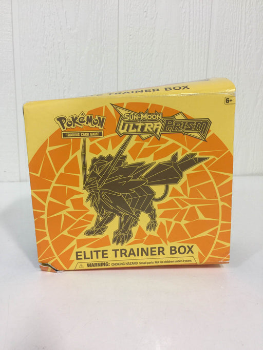 used Pokémon Elite Trainer Box