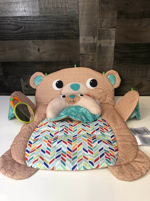 Bright Starts Tummy Time Prop & Play Mat, Bear