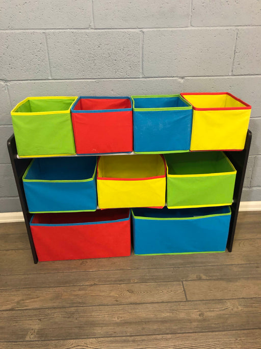 Delta Children's Deluxe Multi-bin Toy Organizer With Storage Bins