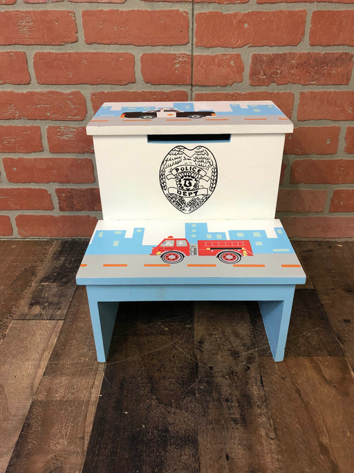 Police/Firetruck Step Stool