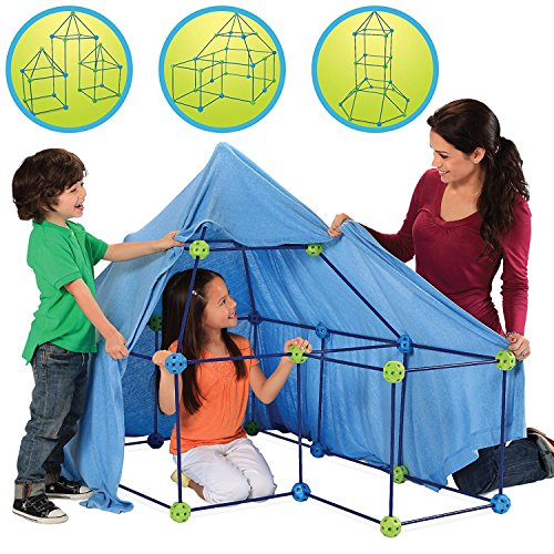 Discovery Kids Build and Play Construction Fort Set