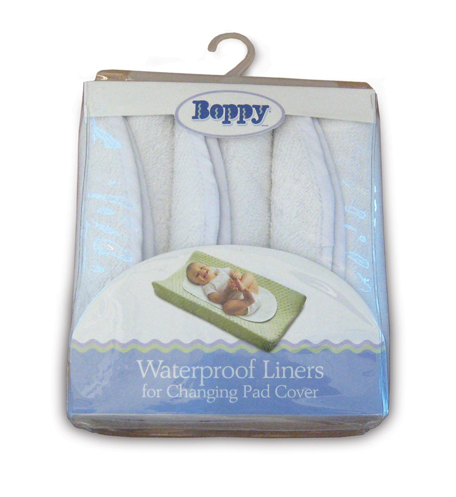 Boppy Changing Pad Liners, Set of 6