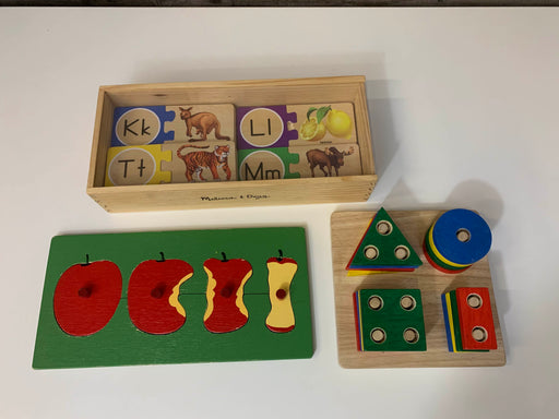 BUNDLE Toddler-Preschool Learning Puzzles