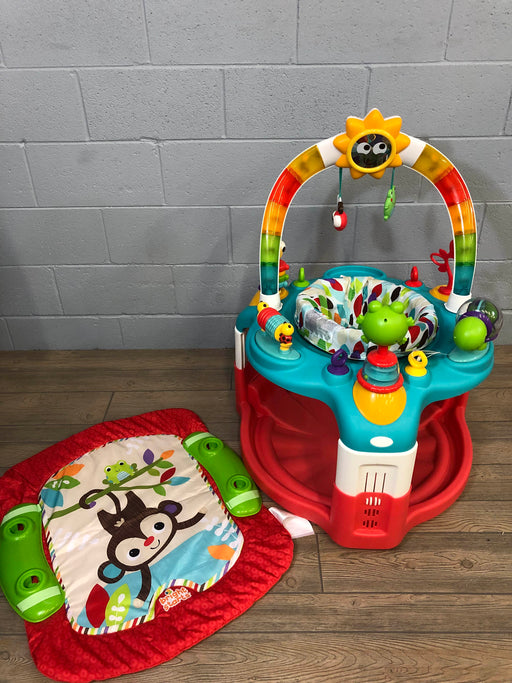 Bright Starts 2-n-1 Laugh And Learn Activity Gym And Saucer