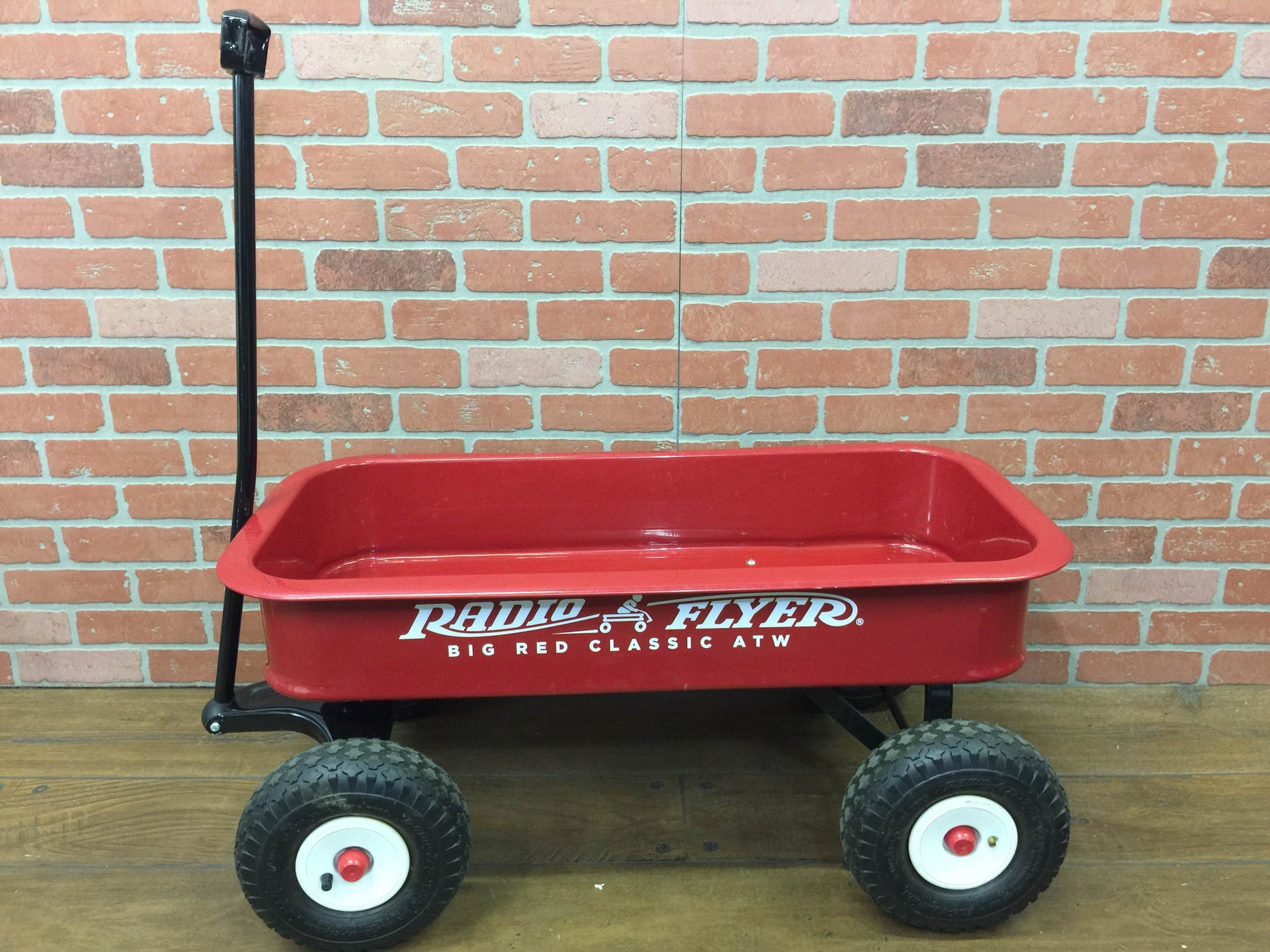 used Radio Flyer Classic Red Wagon Plus Umbrella