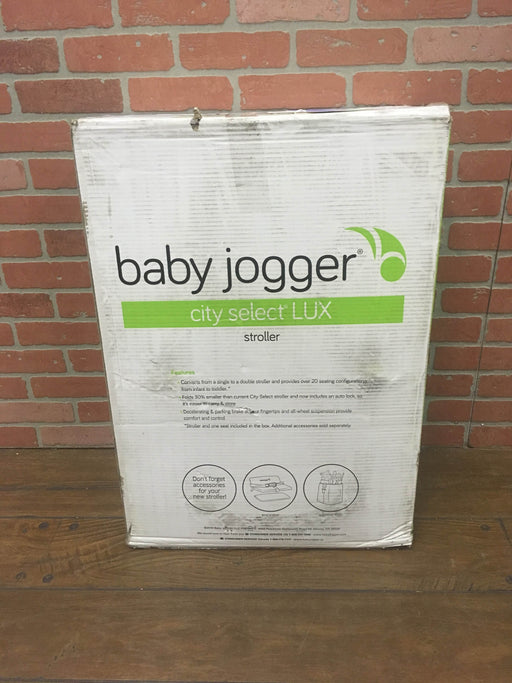 Baby Jogger City Select Lux Stroller, Slate, 2017