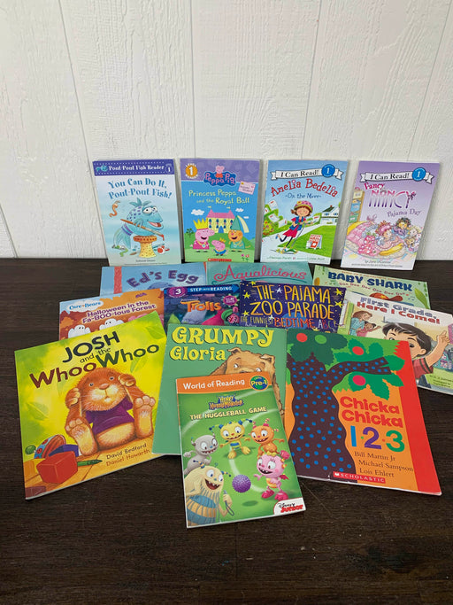 used BUNDLE Easy Reading Books