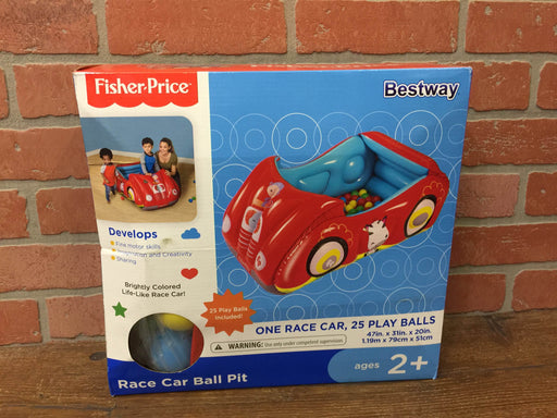 Fisher Price Race Car Inflatable Ball Pit