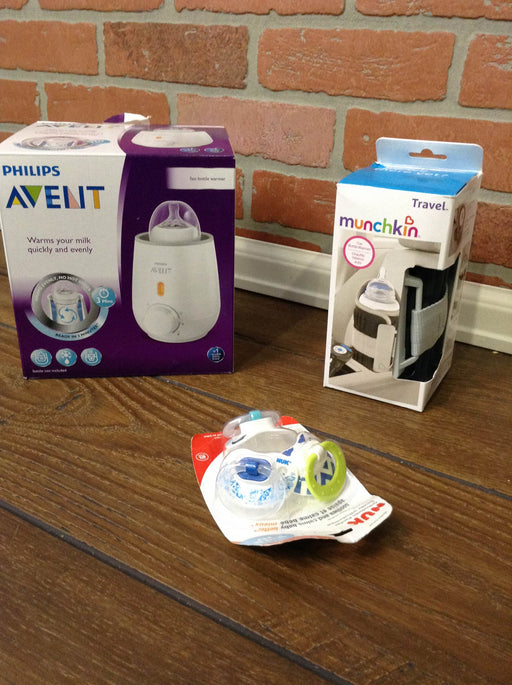 BUNDLE Philips Avent Bottle Warmer & Extras