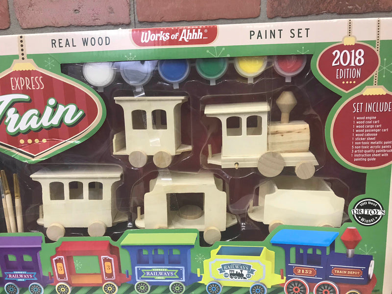 Works Of Ahhh Express Train Paint Kit