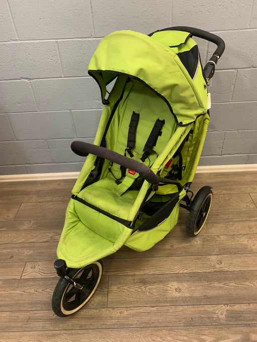 used Phil & Teds Sport Double Stroller, 2009, sport (innovative & all terrain)