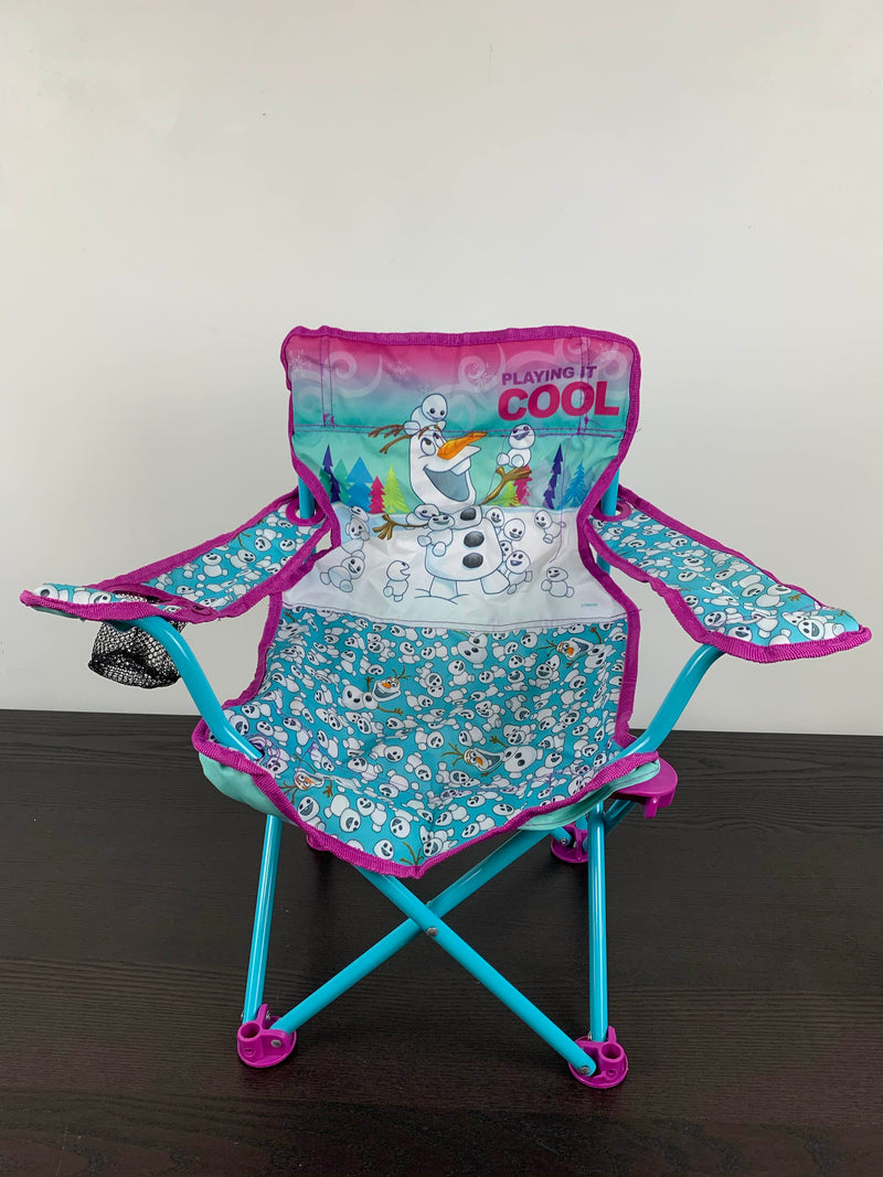used Jakks Pacific Frozen Northern Lights Fold N Go Chair