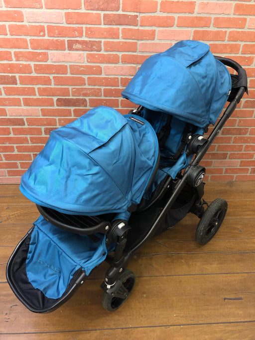 Baby Jogger City Select Double Stroller, 2014, Teal