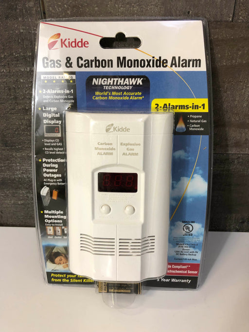Kidde Gas And Carbon Monoxide Alarm