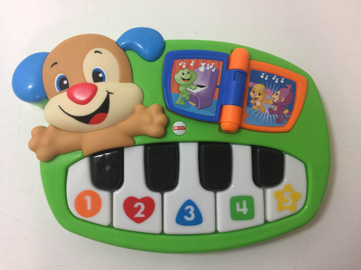 used Fisher Price Laugh & Learn Puppy's Piano