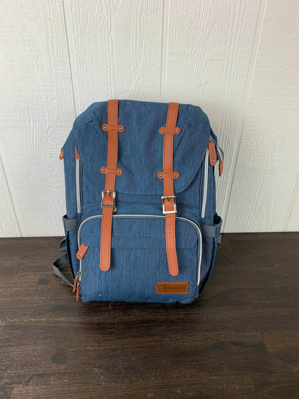 used CANWAY Diaper Bag Backpack